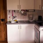 Chalet Belalp EG Küche
